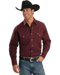Wrangler Twill Work Shirt - Tall, , hi-res