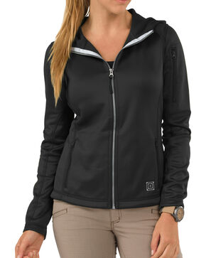 5.11 Tactical Womens Horizon Hoodie, Black, hi-res