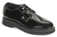 Rocky High Gloss Dress Leather Oxford Dress Duty Shoes, , hi-res