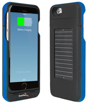 EnerPlex Surfr Solar Battery Case - iPhone 6 Blue, Blue, hi-res