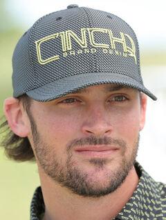 Cinch Men's Grey FLEXFIT® Baseball Cap , , hi-res