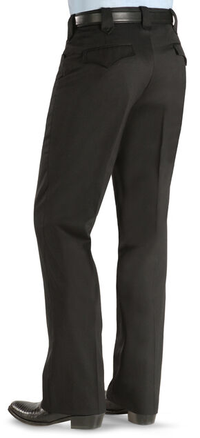 Circle S Men's Black Tuxedo Slacks, Black, hi-res