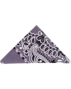 Cody James Men's Western Bandana  , Grey, hi-res