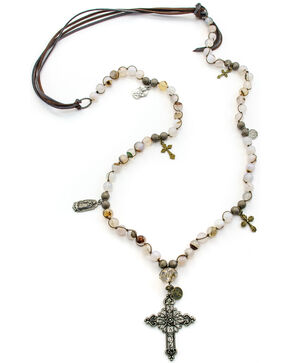 Julio Designs Camerones Necklace, Grey, hi-res