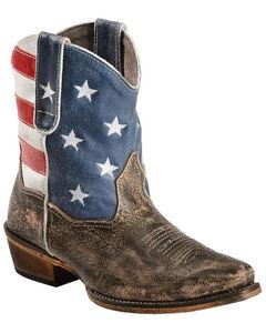 Roper Americana Shorty Boots - Snip Toe, , hi-res