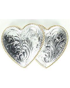 Crumrine Double Heart Buckle, , hi-res