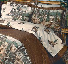 Blue Ridge Trading Whitetail Dreams King Sheet Set, , hi-res