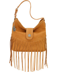 Bandana by American West Tan Rio Rancho Hobo Shoulder Bag , , hi-res