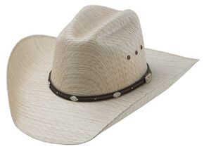 Tony Lama Charlie Straw Cowboy Hat, Natural, hi-res