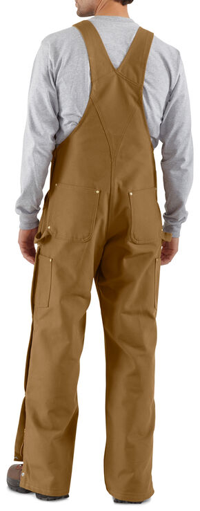 Carhartt Zip-to-Thigh Work Overalls, , hi-res