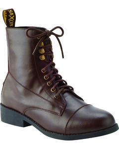 Saxon Women's Equileather Lace Boots, , hi-res