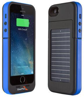 EnerPlex Surfr Solar Battery Case - iPhone 5/5S Blue, Blue, hi-res