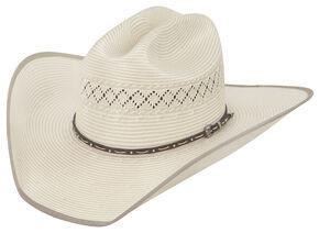Justin 50X Sonoma Straw Cowboy Hat, Natural, hi-res