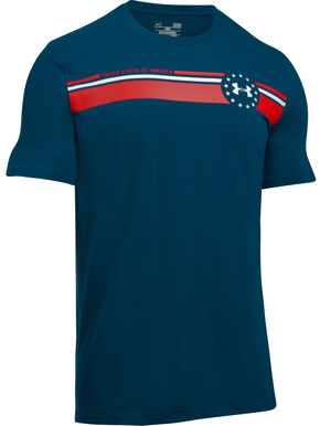 Under Armour Men's Navy 4th of July T-Shirt, Navy, hi-res