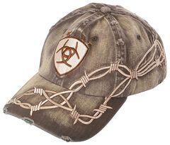 Ariat Barbed Wire Ballcap, , hi-res
