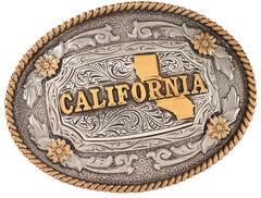 Cody James Men's Oval California Belt Buckle, , hi-res