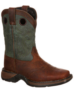 Durango Youth Saddle Western Boot - Square Toe, , hi-res