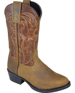 Smoky Mountain Boys' Tonto Western Boot - Round Toe, , hi-res