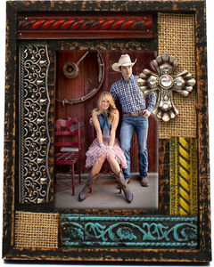 """M&F Western 4"""" x 6"""" Cross Decaled Frame, No Color, hi-res"""