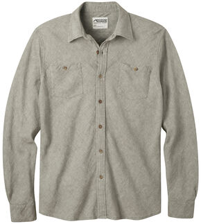 Mountain Khakis Men's Yak Herringbone Shirt, Olive, hi-res