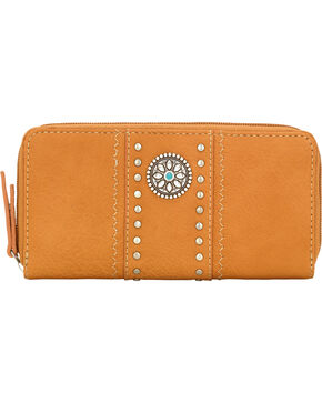 Bandana by American West Tan Rio Rancho Wallet, Tan, hi-res