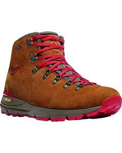 Danner Men's Brown/Red Mountain 600 Hiking Boots, , hi-res