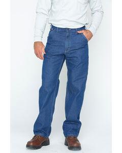 Carhartt Flame Resistant Signature Denim Dungaree Work Jeans, , hi-res