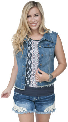 Petrol Women's Donna Lace Back Vest, , hi-res