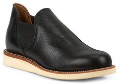 Chippewa Men's 1967 Original Black Romeo Shoes, , hi-res