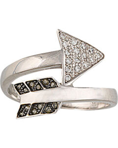 Montana Silversmiths Sparks Will Fly Twisted Arrow Ring, , hi-res