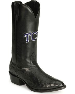 Nocona Texas Christian University College Boots, Black, hi-res