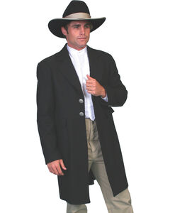 WahMaker Old West by Scully Dragon Lining Frock Coat, , hi-res