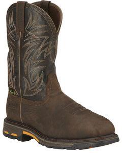Ariat Men's Workhog Waterproof Western Work Boots - Composite Toe, , hi-res