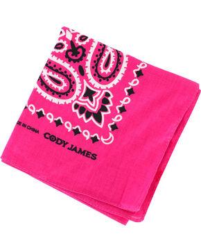 Shyanne Pink Western Bandana, Dark Pink, hi-res