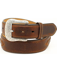 Ariat Men's Leather Concho Belt, , hi-res