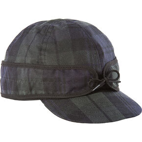 Stormy Kromer Black The Waxed Cotton Cap, Black, hi-res