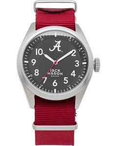 Jack Mason University of Alabama Nato Solid Strap Watch  , , hi-res