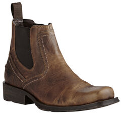 Ariat Men's Brown Midtown Rambler Boots - Square Toe, , hi-res