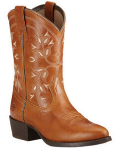 Ariat Youth Girls' Desert Holly Cowgirl Boots - Round Toe, , hi-res