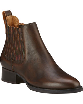 Ariat Women's Weekender Short Boots, Mahogany, hi-res