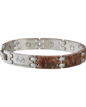 Sabona Realtree Camo Stainless Steel Sport Magnetic Bracelet, Multi, hi-res