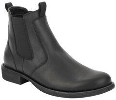 Eastland Women's Black Double Up Jodhpur Boot , , hi-res