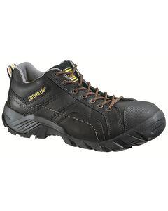 Caterpillar Argon Black Lace-Up Work Shoes - Composition Toe, , hi-res