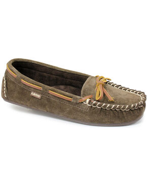 Lamo Footwear Women's Sabrina Moccasins, Chocolate, hi-res