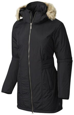 Mountain Hardwear Women's Black Potrero Parka, Black, hi-res