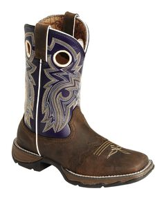 Durango Twilight 'N Lace Rebel Cowgirl Boots - Square Toe, , hi-res