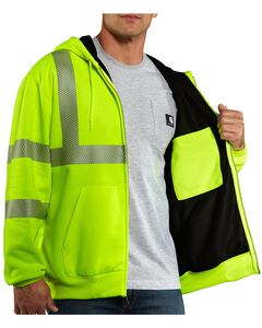 Carhartt High-Visibility Class 3 Thermal Lined Sweatshirt - Big & Tall, , hi-res