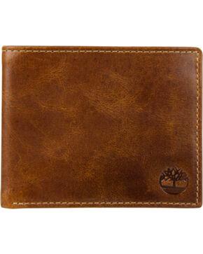 Timberland Men's Buff Apache Billfold Wallet , Cognac, hi-res