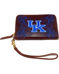Gameday Boots Kentucky University Leather Wristlet, , hi-res