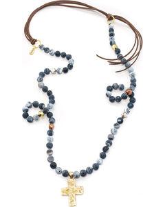 Julio Designs Bluejean Necklace, , hi-res